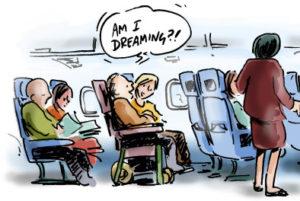 Am I Dreaming Cartoon