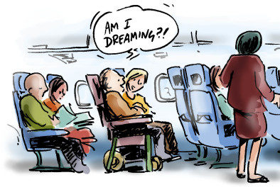 Am I Dreaming Cartoon